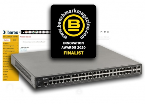 barox RY-LGSP28 Series switch - finalist in the Benchmark In ...