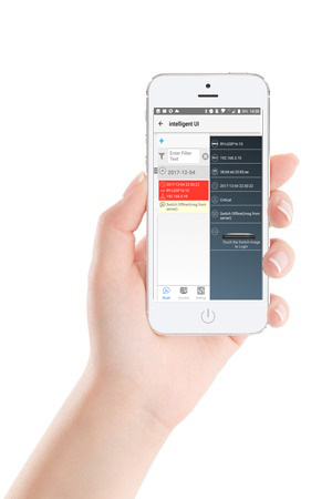 Hand Apple Handy UI neu