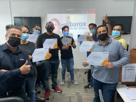barox conducts first virtual workshop with configurations over thousands of km