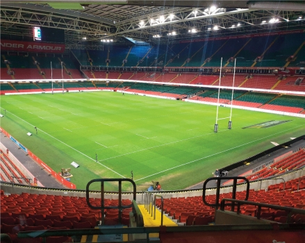 barox Ethernet switches secure Principality Stadium, Cardiff